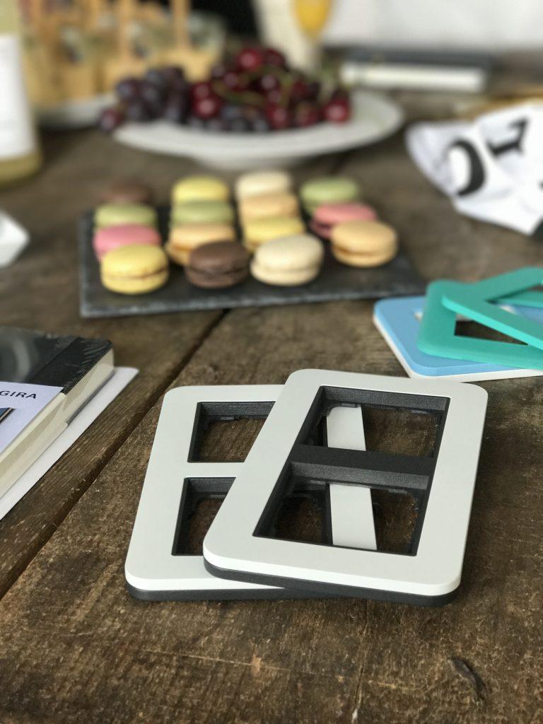 Gira-Blogger-Event-Schalterrahmen-E3-Macarons
