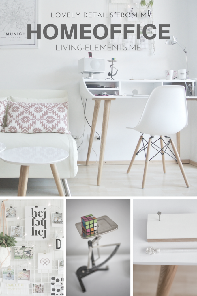 Homeoffice / Vertikaler Pinterest-Pin