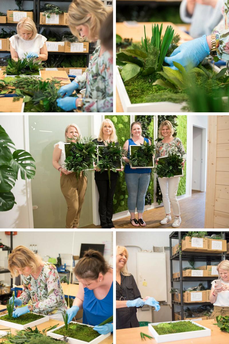 Ein-Green-Brunch-mein DIY-Pflanzenbild-und-ein-Giveaway-von-styleGREEN