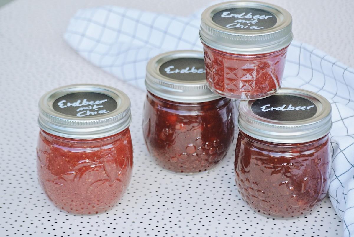 Marmelade Ohne Zucker Zwei Rezepte Mit Erdbeeren ι Livingelements