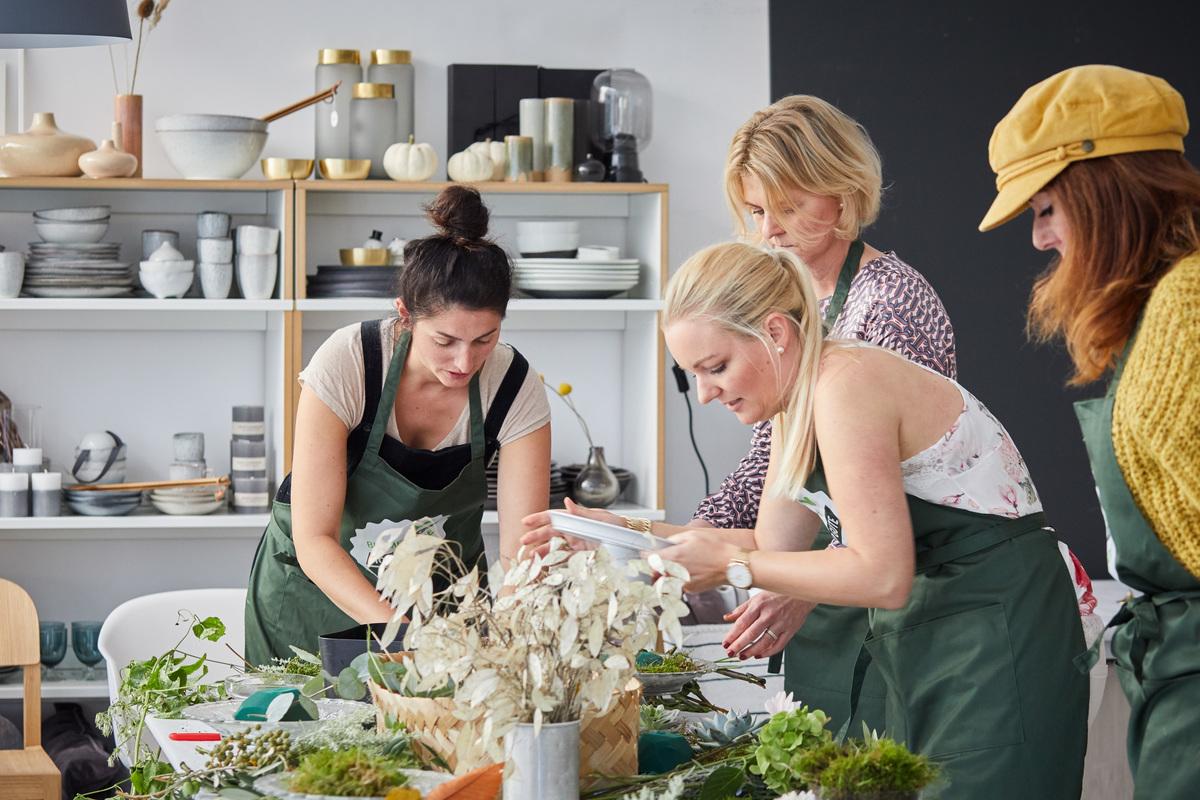 Blumen-Workshop-Herbstblumen-Bloggerinnen-Floristin