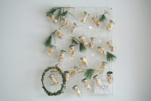 DIY-Adventskalender-Mason-Mini-Jars-House-Doctor-Gitterboard-Mesh