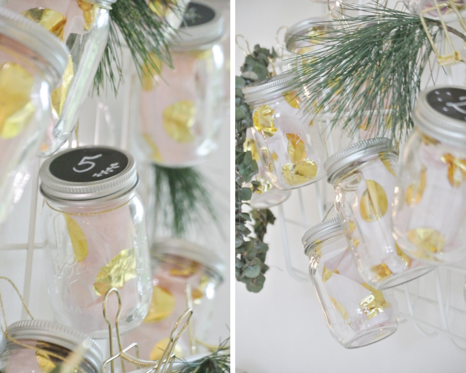 DIY-Adventskalender-Ball-Mason-Mini-Jars