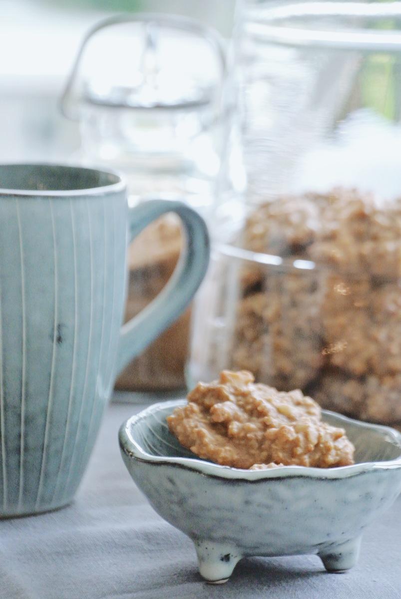 Vegane Hafercookies