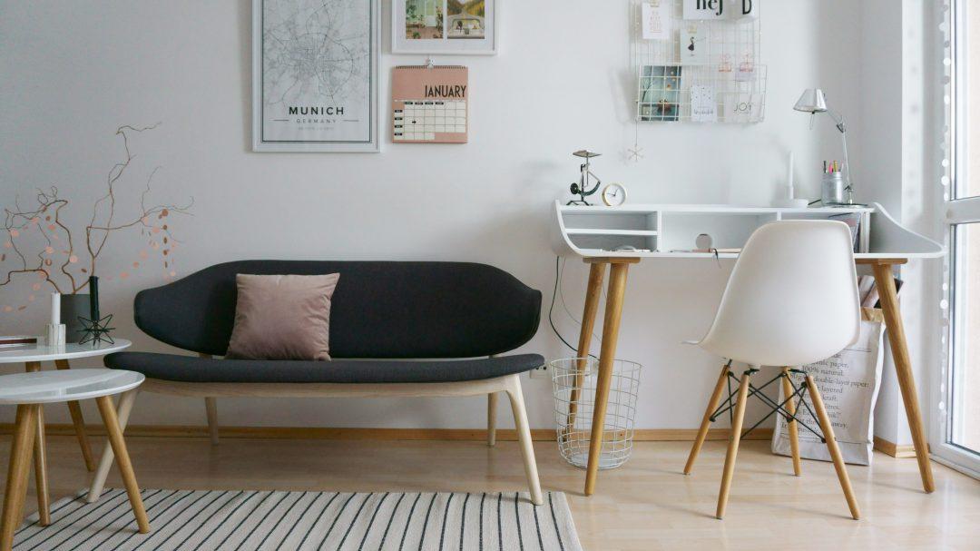 Eine neue Sofabank für das Homeoffice - living.elements