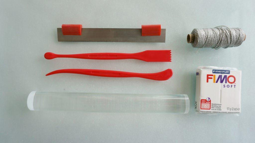 Schneekristalle-aus-Fimo-DIY-Material