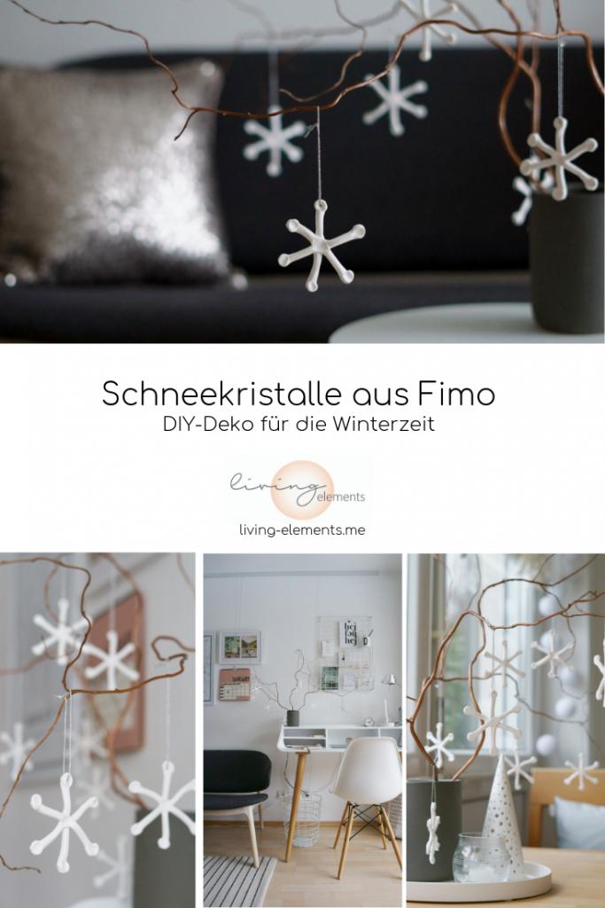 Schneekristalle-aus-Fimo-DIY