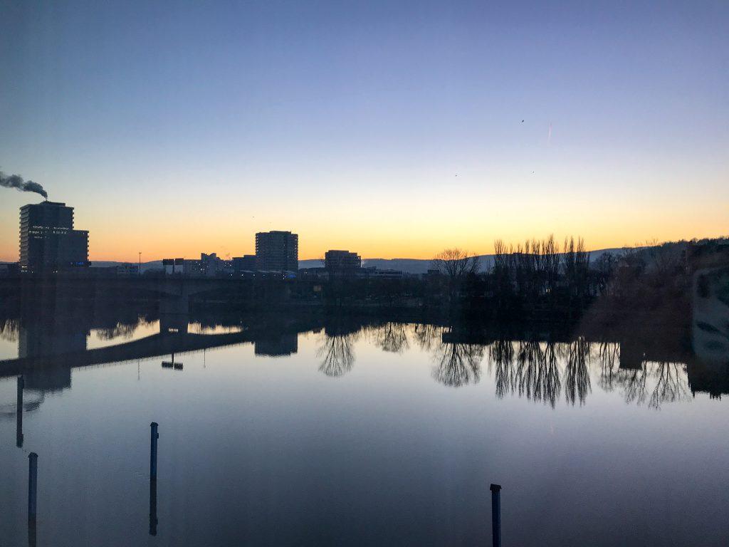 Fährhaus Koblenz Marinakoje Sonnenaufgang