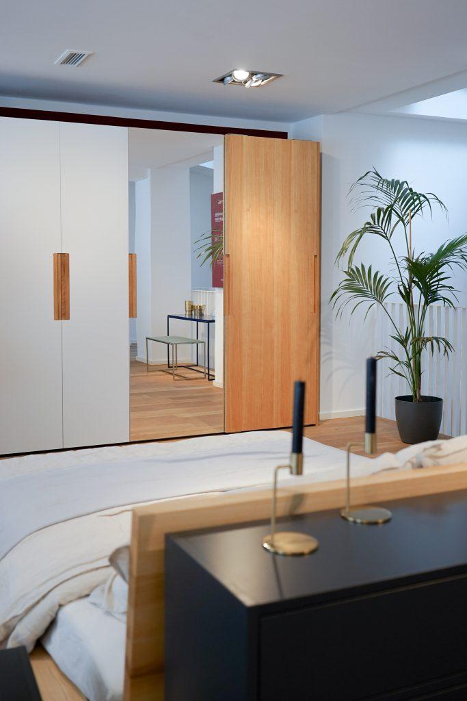 MYCS Kleiderschrank / Schranksystem / modulare Möbel / individuelle Designmöbel / Möbel nach Maß / MYCS Showroom München