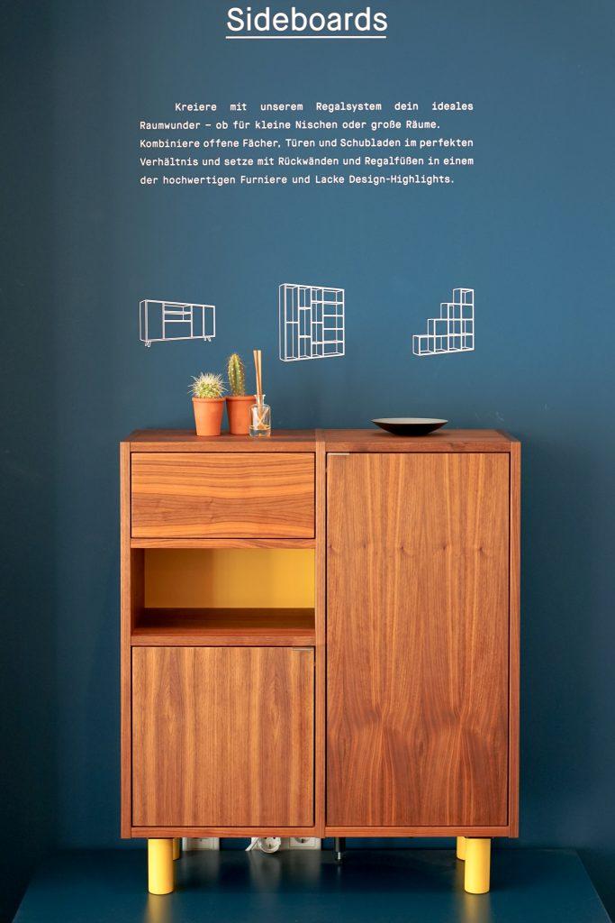 MYCS Sideboard GRYD / Kommode / modulare Möbel / individuelle Designmöbel / Möbel nach Maß / MYCS Showroom München