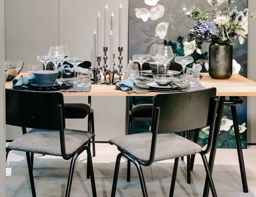 TrendSet Sommer 2019 Interior Trends Herbst und Winter 2019, Table Setting mit Geschirrserie Tisvilde von Broste Copenhagen