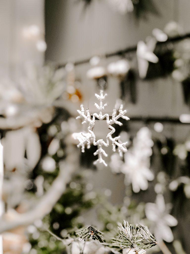 TrendSet Sommer 2019 Interior Trends Herbst und Winter 2019, Schneekristallanhaenger von house doctor