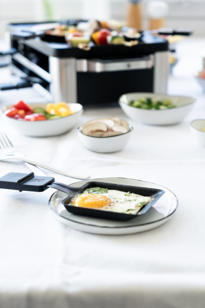 Raclette-Rezepte-Spiegelei