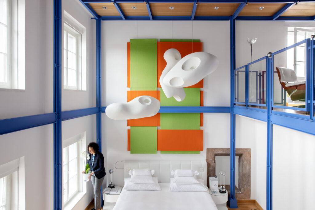Widder_Hotel_Design_Loft_Suite_Bett