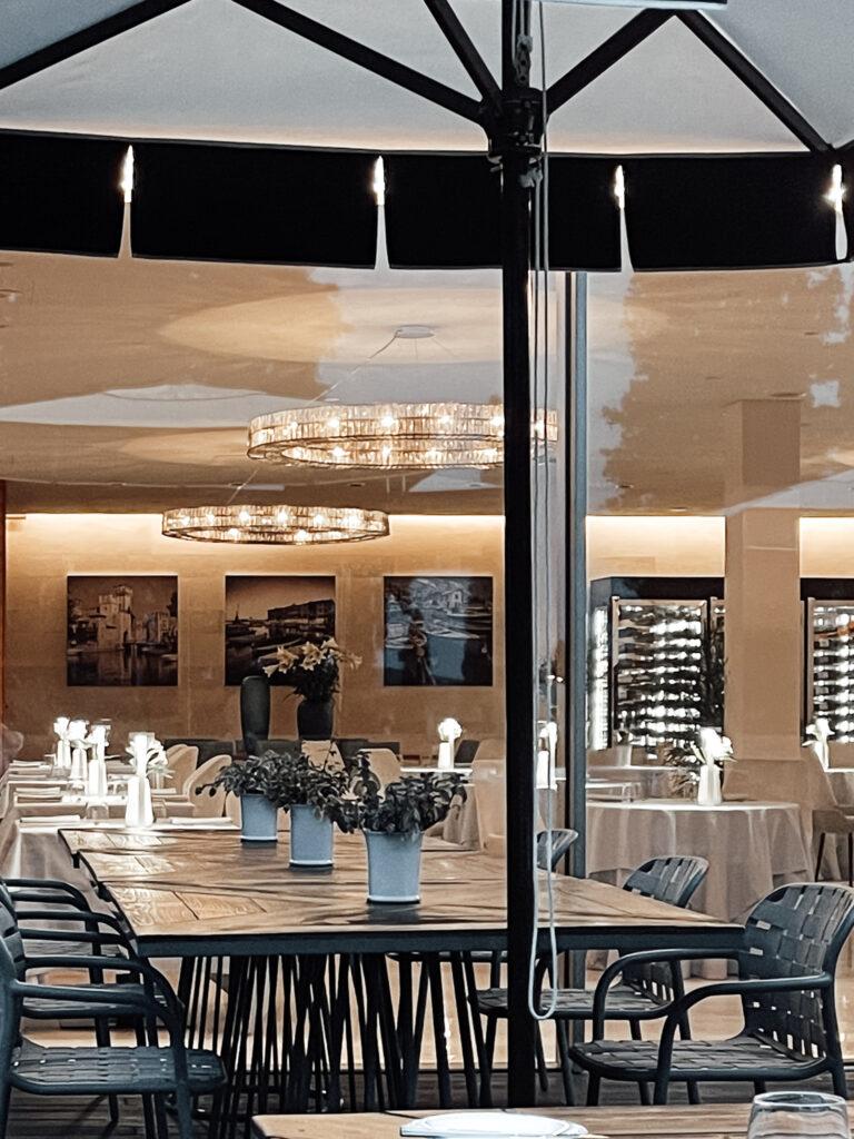 Eden-Reserve-Luxury-Resort-Gardasee-Terrasse-Abendessen